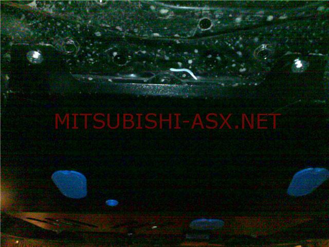 Установка защиты Mitsubishi LancerX на ASX