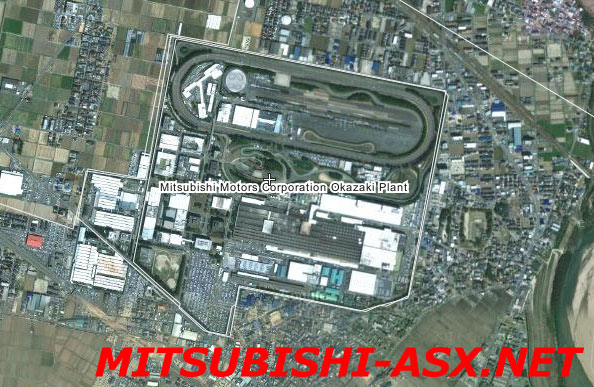 Завод Okazaki Оказаки в Японии