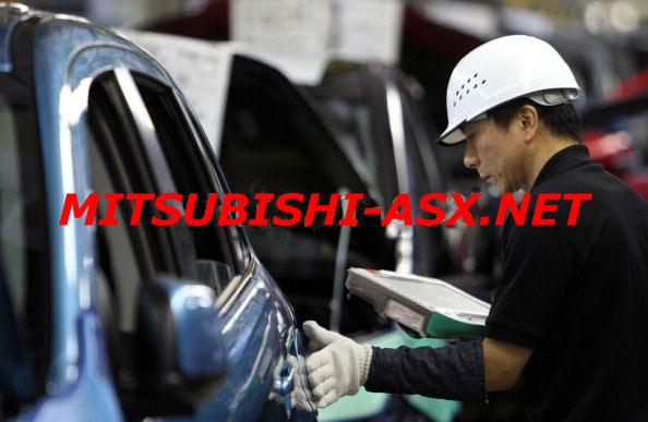 Сборка Mitsubishi ASX  Оказаки Япония