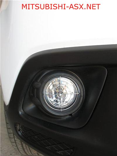 Защита ПТФ из кулера Mitsubishi ASX